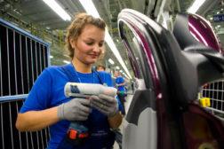 Hyundai assembly line