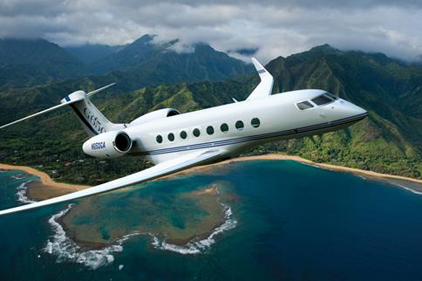 business jet manufacturing
