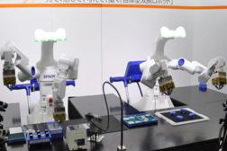 Epson dual-arm robot