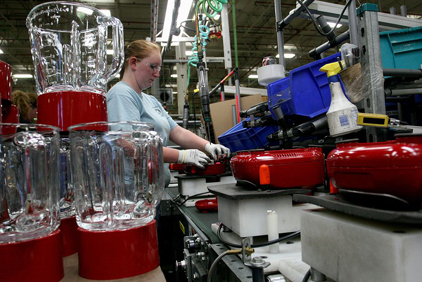 kitchenaid assembly line