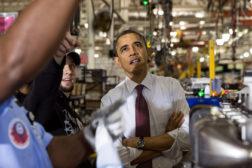 obama manufacturing