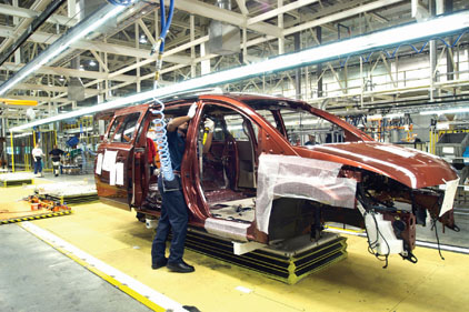 Nissan assembly plant
