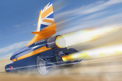 supersonic car