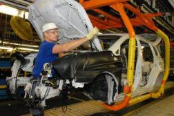 Subaru assembly plant