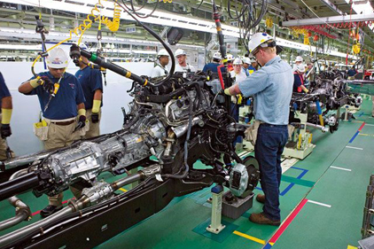 Toyota To Spend 102 Million To Boost Production At U S