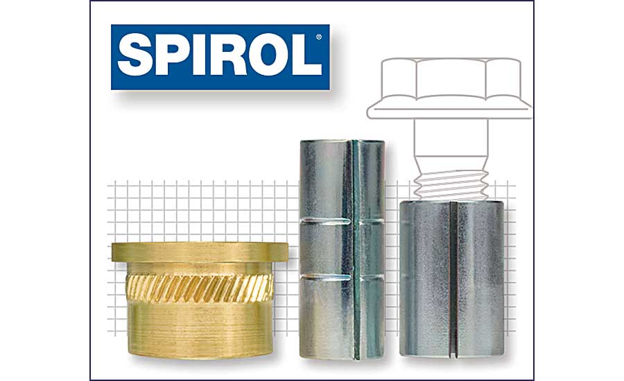 SPIROL Compression Limiters for Plastic Assemblies