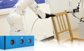 Furniture assembly with Ensenso N35 stereo vision camera