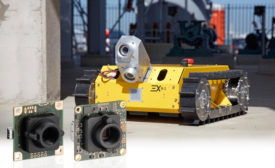 """IDS industrial cameras as """"robot eyes"""" in potentially explosive environments"""