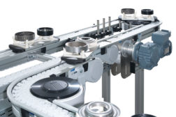 Flexible Chain Conveyors Move Assemblies Up, Down and Around
