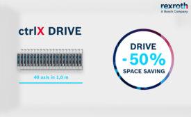 ctrlX DRIVE: Less Hardware, Maximum Performance