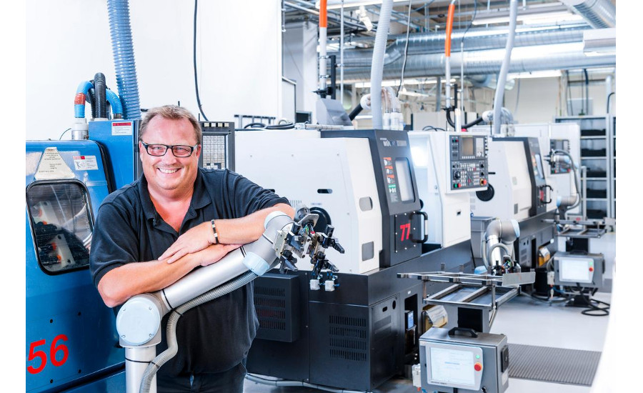42 UR cobots at Trelleborg Sealing Solutions increased efficiency and competiveness resulting in the company hiring 50 new employees.