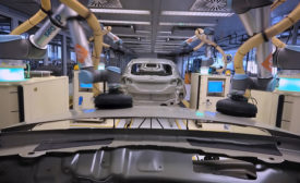Collaborative Robots Help Finish Cars at Ford Assembly Plant in Germany