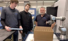 Cobots Boost Productivity at Aerospace Manufacturer