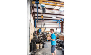 Hoist one ton dsc 1510 cc lewisville motor company gorbel