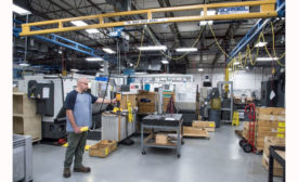 Crane, Hoist Improve Safety for Aerospace Supplier