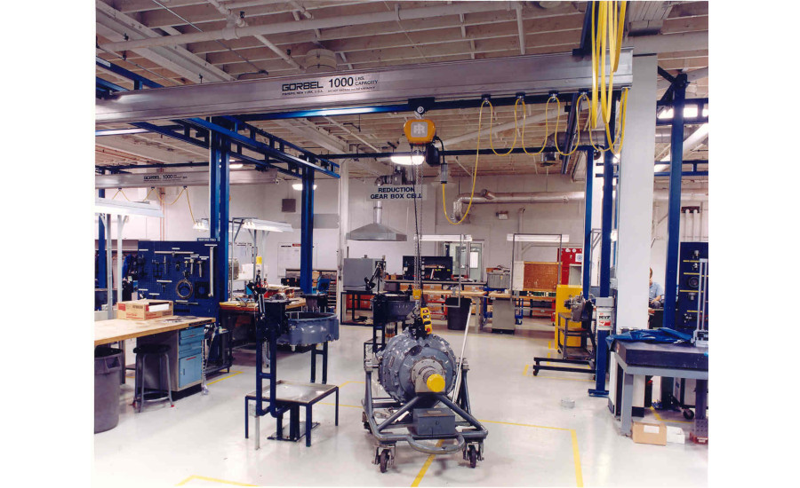Lift-Assist Devices Aid Assemblers