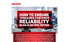 Ensure Threaded Fastener Reliability in an Electric Motor