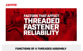 Factors That Affect Threaded Fastener Reliability