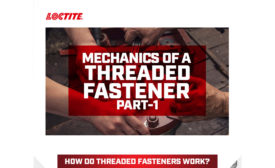 Mechanics of a Threaded Fastener