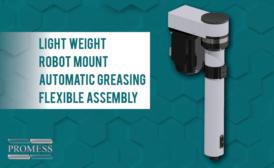 Promess Introduces Lightweight Servo Presses Designed for Robot End Effector Mounting