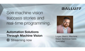 FREE Webinar: Automation Solutions Through Machine Vision