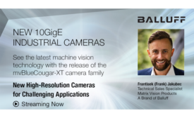 FREE Webinar: New High-Resolution Cameras for Challenging Applications