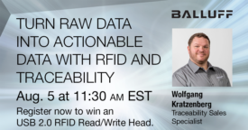FREE Webinar: Turn Raw Data into Actionable Data with RFID & Traceability