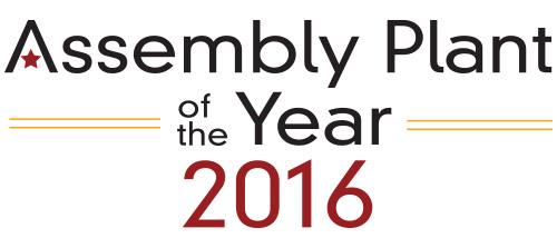 assembly plant of the year 2016