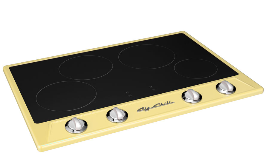 One of Big Chill's retro induction ranges, in buttercup yellow. Source: BlueStar