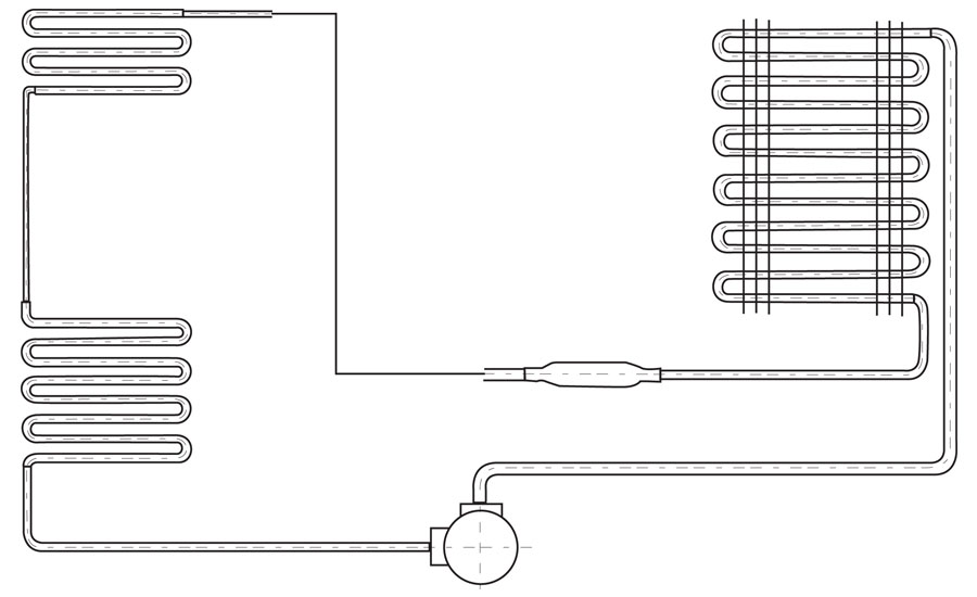 Figure 1: Evaporator Coils in Series